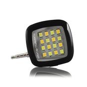 Внешняя светодиодная вспышка для селфи для смартфона FlashLed-Black