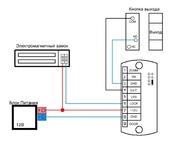 Комплект 14 - СКУД с доступом по электронному TM Touch Memory
