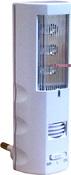 Ультразвуковой отпугиватель комаров-ночник, встроенный фотодатчик, включающий свет и отпугиватель при наступлении сумерек и темноты. ЭкоСнайпер 1611