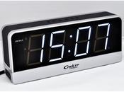 СК 1817-С-Б Спектр сетевые электронные часы-будильник