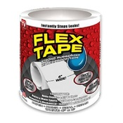 Сверхсильная клейкая лента Flex Tape Белая (152х10см.)
