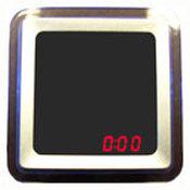 Зеркало с сенсорными часами(квадратное), 2023