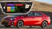 Redpower (21066B) Штатная автомагнитола для Toyota Corolla на Android 4