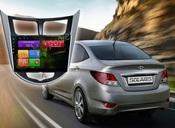 Redpower (21067B) Carpad 4 Головное устройство для Hyundai Solaris на Android 4.4