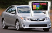 RedPower (21231B) на автомобиль Toyota Camry V55 рестайлинг на Android 4