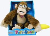 Подвесная интерактивная обезьянка CL1166A