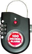 Антикражная сигнализация для ценных вещей или багажа с кодом, сиреной и датчиком вибрации. 2770
