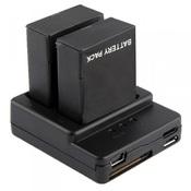Зарядное устройство для двух аккумуляторов под камеры EKEN
