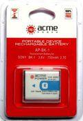 Аккумулятор AcmePower BK-1 (3.6V, min 750mAh, Li-ion)  для CyberShot