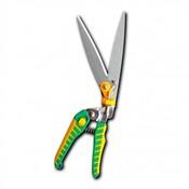 Ножницы для стрижки травы, 340 мм, поворотные: 180 градусов и 6 положений, лезвие из нержавеющей стали (3112A-1)