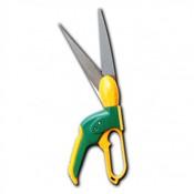 (3118S-2) Ножницы для стрижки травы, 340 мм, поворотные: 360 градусов и 12 положений, лезвие из нержавеющей стали, петлеобразная ручка