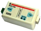 Преобразователь интерфейса USB - RS-485 с гальванической развязкой MXB1-USB
