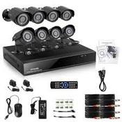 IpCor Базовый 8 Комплект видеонаблюдения(960H)
