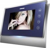 TFT LCD, PAL/NTSC, COMMAX CDV-70U синий