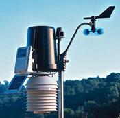 Интегрированный беспроводной блок внешних метеодатчиков ISS Plus с ультрафиолетовым и солнечным датчиками, (6328OV)