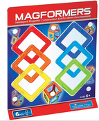 "Magformers ""Квадраты 6"" Магнитный конструктор (701001)"