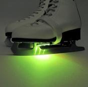 Подсветка для коньков зеленая IceSkates-Green