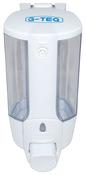 Дозатор для жидкого мыла белый G-teq 8617