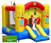 """Надувной батут с горкой """"Забавный Клоун """" Happy Hop артикул 9201, штрих-код 6933491992018"""