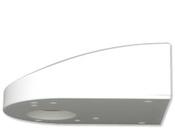 """B.E.G. Luxomat Wall bracket for PD4-C SM """"Основание для настенного монтажа для датчиков движения PD4-Corridor-SM, PD2-SM, цвет белый (92441)"""