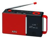 Радиоприёмник AEG DAB 4158 DAB+ (красный)