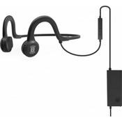 Спортивные стереонаушники AfterShokz Sportz Titanium с микрофоном, черный (AS451XB)