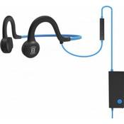 Спортивные стереонаушники AfterShokz Sportz Titanium с микрофоном, синий (AS451OB)
