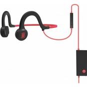 Спортивные стереонаушники AfterShokz Sportz Titanium с микрофоном, красный (AS451LR)