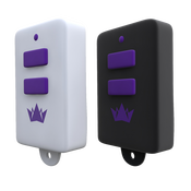 Brenin Aide Charm (Бел + Черн) RC-001BW Два маленьких пульта дистанционного управления в форме брелка