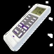 Brenin Aide I RC-100W Пульт с дисплеем, термометром, функциями часов, календаря, программирования (Белый)