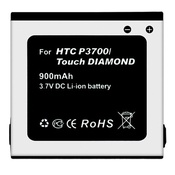 Ainy Аккумулятор CA-H026 HTC P3700 Touch Diamond 900mAh