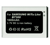 Ainy Аккумулятор CA-S149 Samsung B7300 Omnia Lite 1600mAh