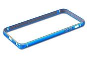 Ainy Бампер металлический Apple iPhone 5/5S QC-A008N голубой
