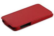 Ainy Кожаный чехол Apple iPhone 5C красный