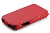 Ainy Кожаный чехол Samsung S7270 7275 Galaxy Ace 3 красный