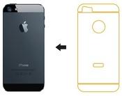 Ainy Защитная пленка Apple iPhone 5/5S/5C задняя матовая