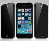 Ainy Защитное стекло (0,33мм) Apple iPhone 5/5S/5С Анти-шпион