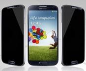 Ainy Защитное стекло (0,33мм) Samsung i9500 Galaxy S4 Анти-шпион