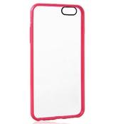 Ainy Защитный чехол Apple iPhone 6 QF-A018D прозрачно-розовый