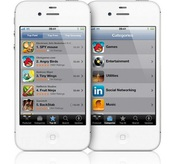 Apple iPhone 4S 32Gb (white)
