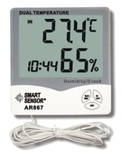 Smart Sensor AR867 Термометр с функцией измерения влажности воздуха - метеостанция (EU) (AR867)
