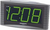 Часы, будильник, индикатор ALARM, питание 220 В, светодиодный дисплей ASSISTANT AH-1023