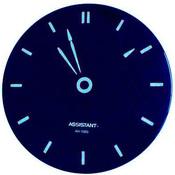 Сетевые настенные часы, пульт ДУ, ASSISTANT AH-1083blue