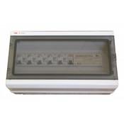 GSM контроллер с 5 автоматами (розетками) на DIN рейке. Модель: B-DIN-BOX