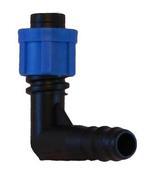 Фитинг BE0117 для садовых шлангов и систем полива капельной лентой