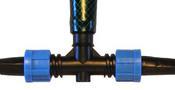 Фитинг BT011720 для садовых шлангов и систем полива капельной лентой