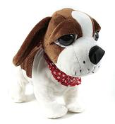 Интерактивная игрушка собачка, реагирующая на звук (коричневая) CL1187С