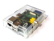 Корпус Clear Raspberry Pi прозрачный