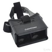 Виртуальный шлем, очки ColorCross 3D для смартфонов на Android, iOS и WP