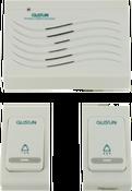 Беспроводной звонок (2 кнопки + 1 динамик) D011C1
